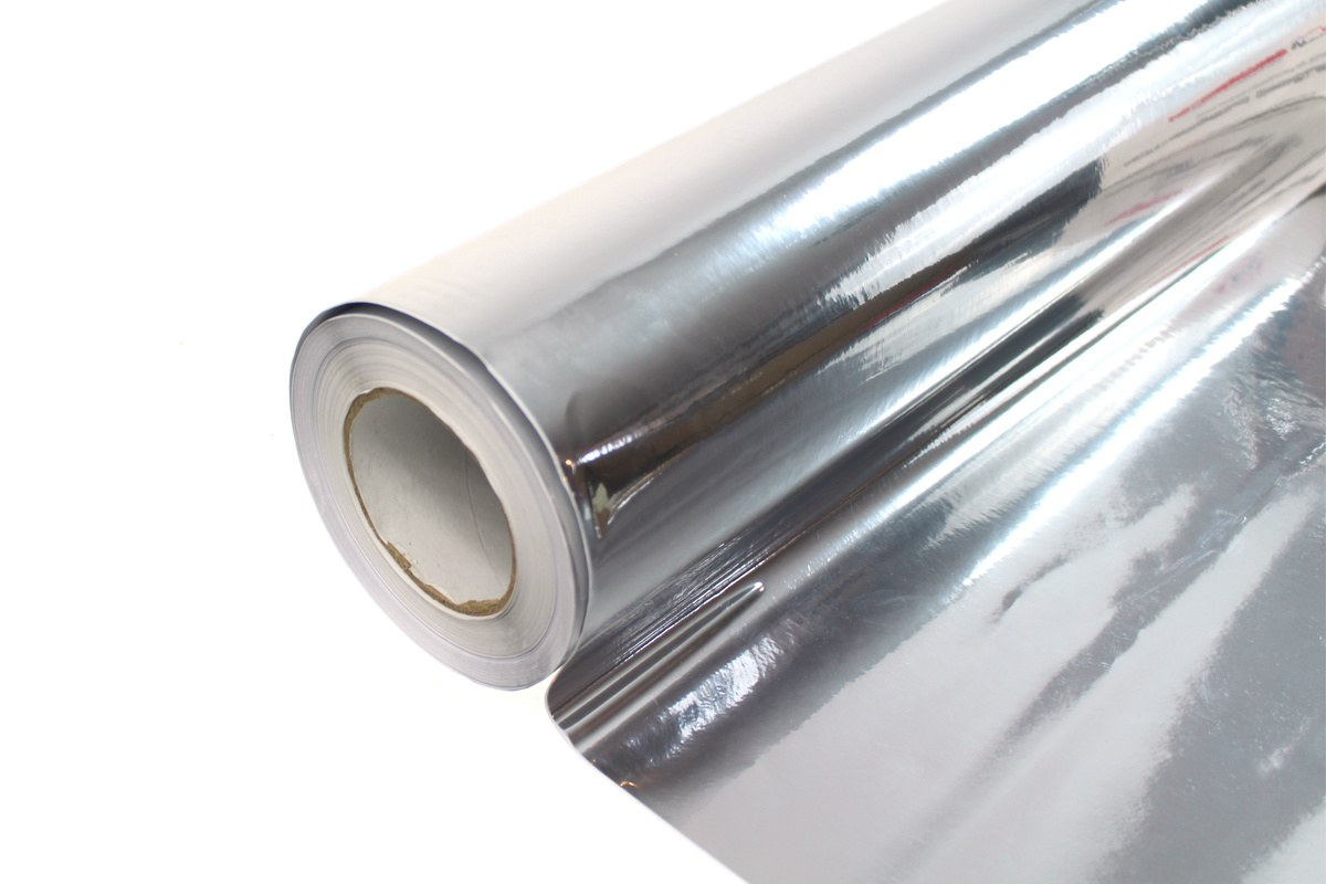 Folia Wrap Silver Chrome 1,52X20m - GRUBYGARAGE - Sklep Tuningowy
